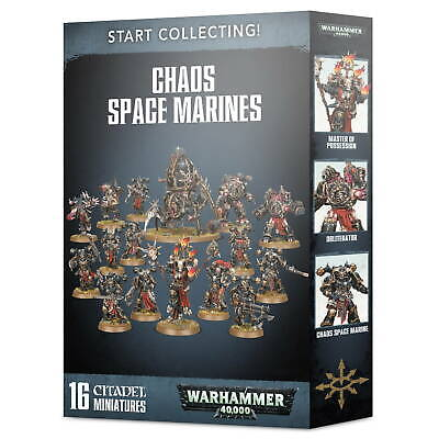 Warhammer 40,000 - Start Collecting! Chaos Space Marines • 58.27£