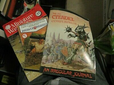 The First Citadel Compendium And Other Wargaming Mags • 39.99£