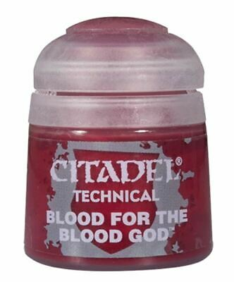 Blood For The Blood God, Citadel Paint Technical, Warhammer 40,000 • 2.75£