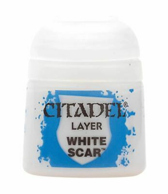 White Scar, Citadel Paint - Layer, Warhammer 40,000/Age Of Sigmar • 2.75£