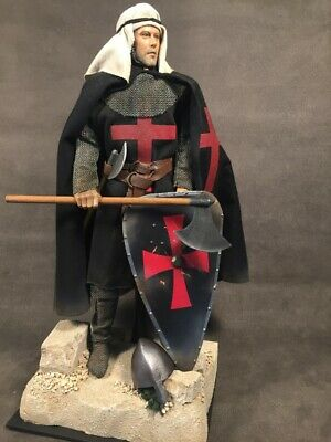 Custom 12  Crusader Knights Templar Figure 1/6 Scale • 80£