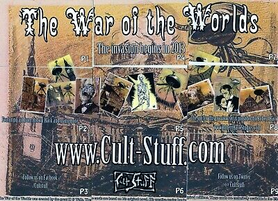 War Of The Worlds   Preview Edition  ( Cult Stuff)  9 Trading Card Set • 7.49£
