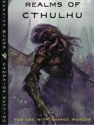 REALMS OF CTHULHU RPG. Savage Worlds Roleplaying Game. Campaign Setting • 69.99£