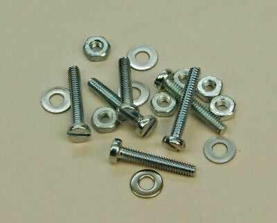 M2 X 12mm Pan Screw ,nuts And Washers X 6 • 3.58£