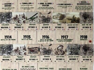 WW1 Card Game Western Front 2 Player Pocket • 4£