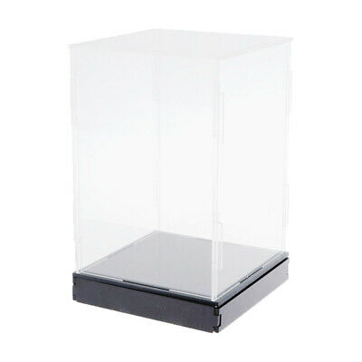 Clear Acrylic Display Box Large Dustproof Protection Doll Model Show Case • 19.73£