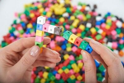 1cm Cubes Counting Interlocking Math Learning Home  Various Pack Sizes Available • 11.75£