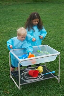 Water And Sand Clear Plastic Tray With Stand Kids Exploration & Sensory Play  • 120£