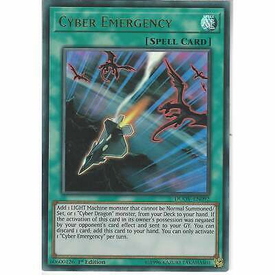 DUOV-EN092 Cyber Emergency | 1st Edition Ultra Rare YuGiOh Trading Card Game TCG • 8.45£