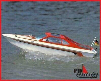 ROBBE KATJE RC SPORTS BOAT KIT (L 520mm X W 180mm ) KIT ONLY OR WITH MOTOR / ESC • 97.50£