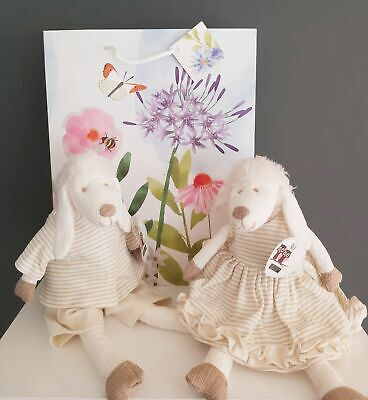 Lottie & Liam Lamb Chops Cream Sheep Soft Toy - Free Gift Bag Easter New Baby  • 19.95£