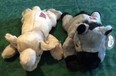 TY RETIRED BUDDIES Of American Politics LEFTY & RIGHTY BNWT (inc.Tag Protectors) • 27£