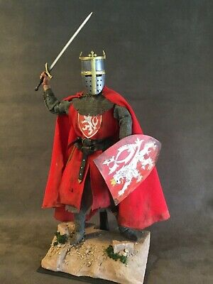 "Custom 12"" Knight Of Bohemia 1/6 Scale Figure.  • 85£"
