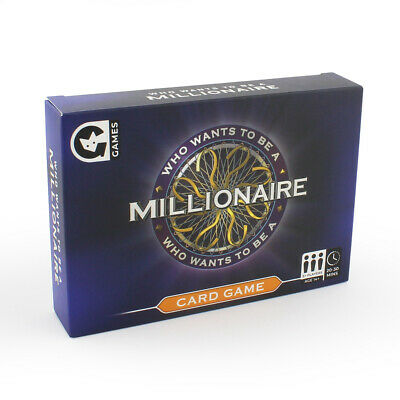Official Who Wants To Be A Millionaire Classic TV Quiz Card Game | Ginger Fox • 8.99£