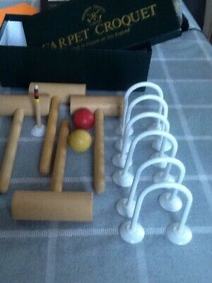 Carpet Croquet. Townsend Ltd  English Made • 8.50£