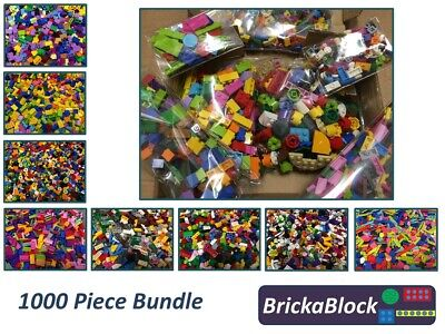 NEW 1000 Piece Mixed Lego Bundle (Bricks, Plates, Slopes & More) ONLY £14.99! • 14.99£