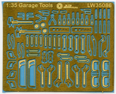 AMW 1:35 Scale Mechanic's Tools For Dioramas And Detailing • 10.95£