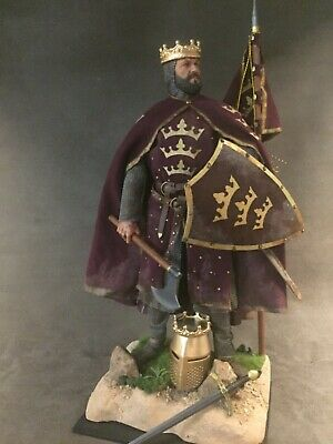 "Custom 12"" Medieval Warrior King Arthur 1/6 Scale Figure.  • 120£"