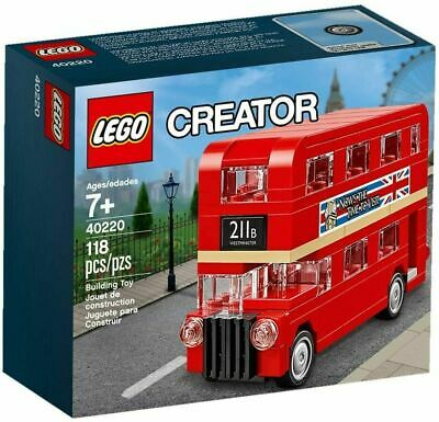 LEGO 40220 Creator Double Decker London Bus - *RARE *LIMITED *BRAND NEW & SEALED • 16.99£