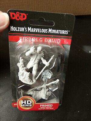Nolzur`s Marvelous Miniatures Dungeons & Dragons Male Firbolg Druid - New • 2.99£