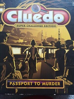 Cluedo Passport To Murder Challenge Edition Board Game Weapons & People Spares • 3.25£