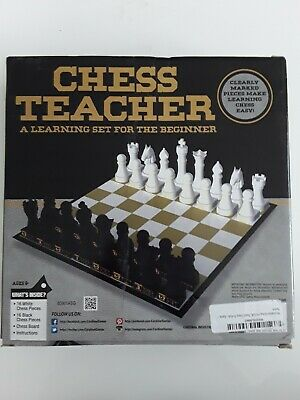 Chess Teacher The Learning Set For The Beginner (box Warehouse Damage) • 7.99£