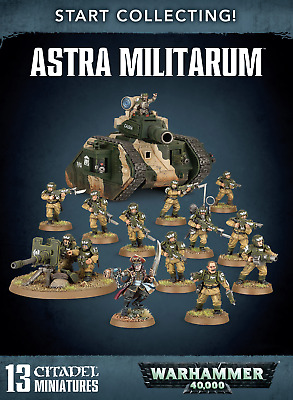 Start Collecting! Astra Militarum • 52.99£