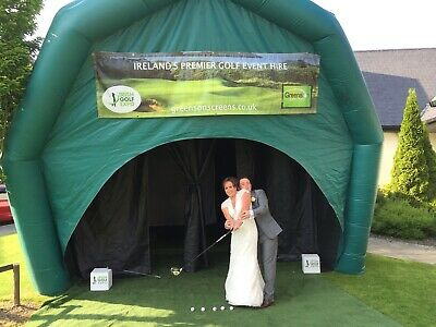 Inflatable Marquee Golf Simulator Sports • 1,999£