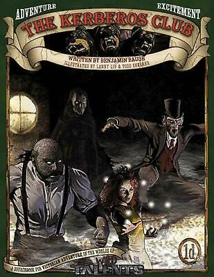 THE KERBEROS CLUB (RPG) Wild Talents Roleplaying Game Sourcebook. Steampunk • 19.99£