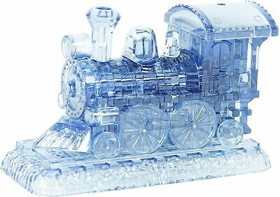 3D Puzzle Train - Crystal Clear Plastic Jigsaw Adults Child Kids Gift Funtime • 10.18£