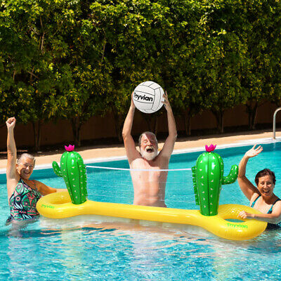 Inflatable Family Volleyball Pool Game Summer Fun Floating Water Toy Party Beach • 17.49£
