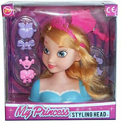 Girls Fashion Hair Styling Dolls Head Glamour Play Set Kids Childs Toy New Boxed • 7.95£