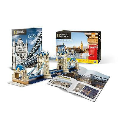National Geographic Tower Bridge 3D Jigsaw Puzzle • 17.16£