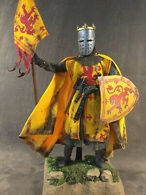 "Custom 12"" Robert The Bruce, King Of Scots, Medieval Warrior 1/6 Scale Figure.  • 120£"