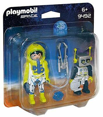 Playmobil 9492 Space Astronaut And Robot Duo Pack • 8.48£