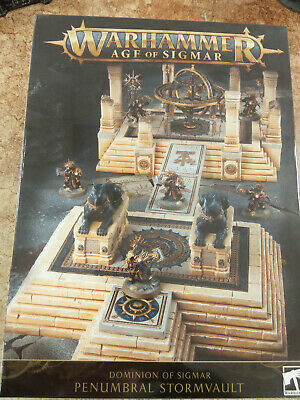 Warhammer Age Of Sigmar Dominion Of Sigmar Penumbral Stormvault  - New & Sealed • 64.50£