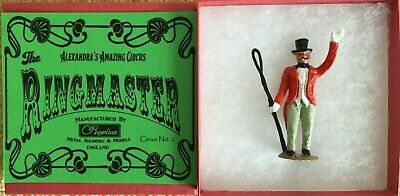 Circus Figure - Ringmaster Recast Boxed & Painted, Charbens,Britains,Crescent • 19.99£