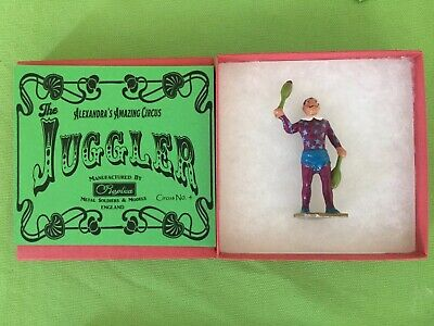 Circus Figure - Juggler Recast Boxed & Painted, Charbens,Britains,Crescent • 19.99£