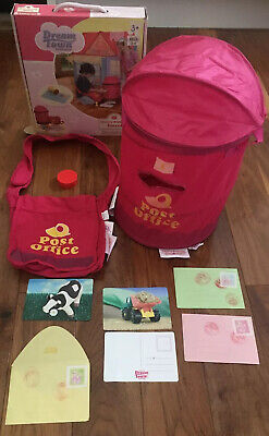 Dream Towns Cherry Blossom Stores Toy Postal Set Post Office Box Kids Role Play • 17.99£