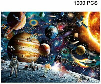 1000 Pieces Space Stars Jigsaw Scenery Mini Puzzles Educational Toys • 10.59£