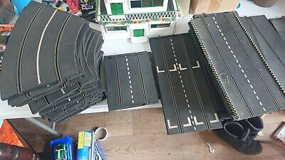 Early Scalextric Track, Rubber? • 30£
