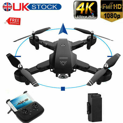 Drones X Pro 2.4G With 1080P HD 4K Camera GPS WIFI FPV Foldable Quadcopter 3D UK • 54.99£