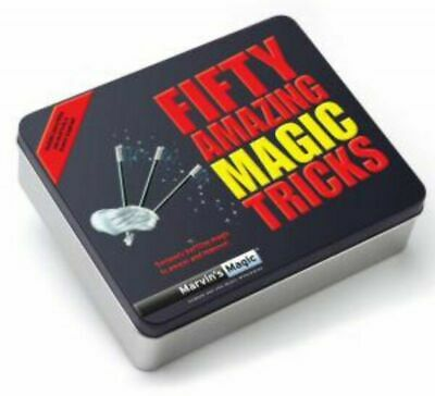 Marvin's Magic MMT120 Fifty Amazing Magic Tricks Game • 10£