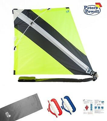 PETER POWELL Stunt Kite Gift Set - The Original & Best - Complete Package • 59.99£
