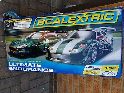 Scalextric Ultimate Endurance Race Car Set • 60£