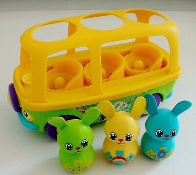 Tomy Sing To Learn Bunny Bus With Sounds • 16.99£