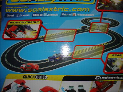 Job Lot Scalextric Sport Slot Racing Extension Track  • 30£