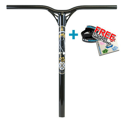 Blunt Reaper V2 Scooter Handlebar 600mm - Black + Free Stickers • 54.95£