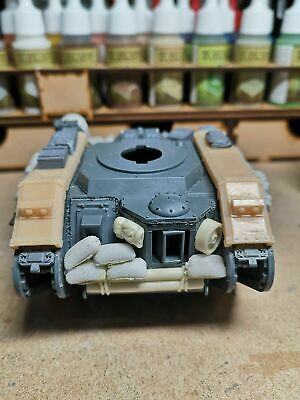 Resin 28mm Track Guards Set Compatible With 40K Leman Russ Tank • 5£