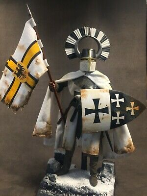"Custom 12"" Teutonic Knight 1/6 Warrior Figure.  • 125£"